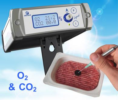 Legend handheld O2&CO2 gas analyser